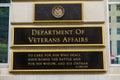 Department of Veteran Affairs Washington DC Royalty Free Stock Photo