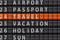 Departure board background Stock Photos
