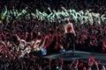 Depeche Mode Live Royalty Free Stock Photo