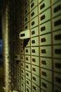 Deposit box Royalty Free Stock Photo