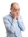 Depressed Businessman Royalty Free Stock Photo