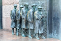 Depression breadline fdr memorial washington dc this bronze sculpture by george segal depicts a scene from the great when folks Stock Images