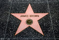 Der Stern James-Brown Lizenzfreie Stockbilder