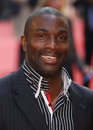 Derek redmond arriving for the chariots of fire premiere held at the empire leicester square london england picture by henry Stock Photo