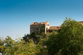 Derelict building - a typical Mediterranean scene Royalty Free Stock Photo