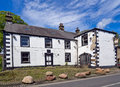 Derelict public house shut down and in the village of chipping ribble valley lancashire uk Stock Photography