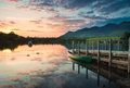 Derwent Water, Lake District Royalty Free Stock Photo