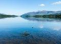 Derwentwater Lake District calm water Royalty Free Stock Photo