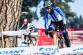 Deschutes brewery cup cyclocross paul lacava at the in bend oregon Stock Image