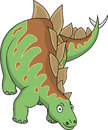 Desenhos animados do Stegosaurus Fotos de Stock Royalty Free