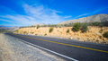Desert Black Highway Royalty Free Stock Photo