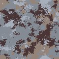 Desert camouflage seamless tileable texture digital Stock Photos
