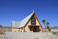 Desert church Royalty Free Stock Images