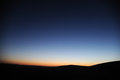 Desert in dawn located inner mongolia ejinaqi china Royalty Free Stock Photo