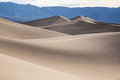 Desert dunes sand in the of death valley california Royalty Free Stock Images