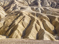 Desert foothills of zabriskie point death valley Royalty Free Stock Photos