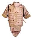 Desert interceptor body armour Royalty Free Stock Photo