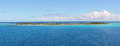 Desert island in pacific ocean micronesia mystery vanuatu Royalty Free Stock Image