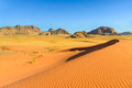 Desert jordan s in a morning Stock Image