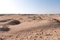 Desert landscape of Sahara Royalty Free Stock Photo
