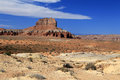 Desert landscape stunning view in the utah Royalty Free Stock Photo