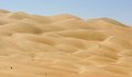 Desert panorama liwa dunes the empty quarter Royalty Free Stock Photography
