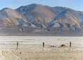 Desert playa in northern nevada near gerlach Royalty Free Stock Photography