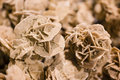 Desert rose, rosette formations Royalty Free Stock Photo