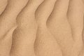 Desert sand wavy texture closeup Stock Photo