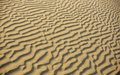 Desert sand weaves pattern background natural of in a middle eastern Royalty Free Stock Images