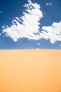 Desert sky Royalty Free Stock Photo