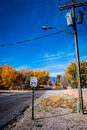 Desert suburbia residential subdivision in the remote town of alamo nevada usa Stock Photography