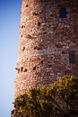 Desert View Watchtower at the Grand Canyon Stock Photography