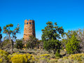 Desert View Watchtower, Grand Canyon Royalty Free Stock Photo