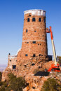 Desert View Watchtower Renovations Royalty Free Stock Photography
