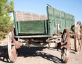 Desert Waggon Royalty Free Stock Photo