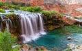 Desert waterfalls Royalty Free Stock Photo