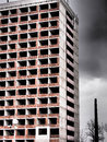Deserted High Rise Building
