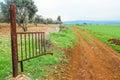 Deserted land Royalty Free Stock Photo