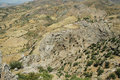 Deserted landscape in Kurdistan, East Turkey Stock Image