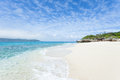 Deserted tropical island beach, Okinawa, Japan Royalty Free Stock Photo