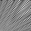 Design abstract striped lines background. Convex s Stock Photo