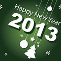 Design,  banner, new year 2013 Royalty Free Stock Image