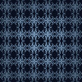 Design blue ornament background Royalty Free Stock Photography