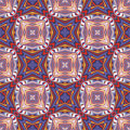 Design from the caribbean seamless vector textile pattern in dynamic vibrant and fancy colors inspired by traditional motifs Royalty Free Stock Photos