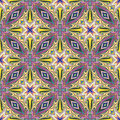 Design from the caribbean seamless vector textile pattern in dynamic vibrant and fancy colors inspired by traditional motifs Stock Images