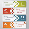 Design clean number banners template graphic or website layout vector Stock Photo