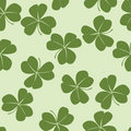 Design with clovers Stock Photo