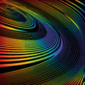 Design colorful helix movement illusion background
