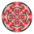 A design decorative circle element Royalty Free Stock Photo